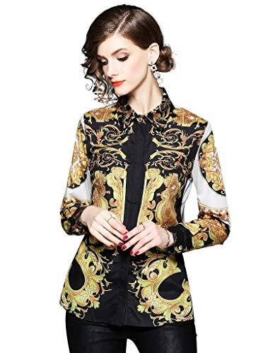 Women's Baroque Print Shirt Regular…