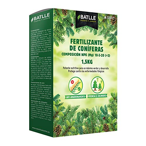 Abonos - Fertilizante Coniferas 1,5Kg - Batlle