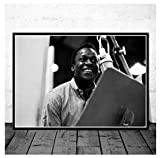 Hailongdia Miles Davis Blue Jazz Musik Leinwand Poster