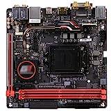 MYHJ Mini-ITX HTPC 17 * 17 Fit for Gigabyte GA-Z170N-Gaming 5 Z170 Socket LGA 1151 DDR4 Compatible con Placas Base de computadora I7 6700K
