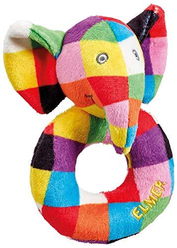 Rainbow Designs Hochet - Elmer l'éléphant