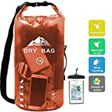 HEETA Waterproof Dry Bag for Women Men, Roll Top Lightweight Dry Storage Bag Backpack with Phone Case for...