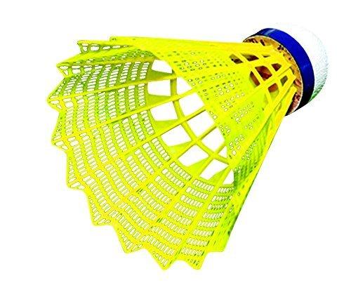 Sportime Badminton Shuttlecocks - Tournament Yeller - Pack of 6 by Sportime