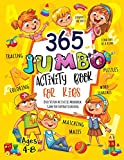 365 Jumbo Activity Book for Kids Ages 4-8: Over 365 Fun Activities Workbook Game For Everyday Learning,...