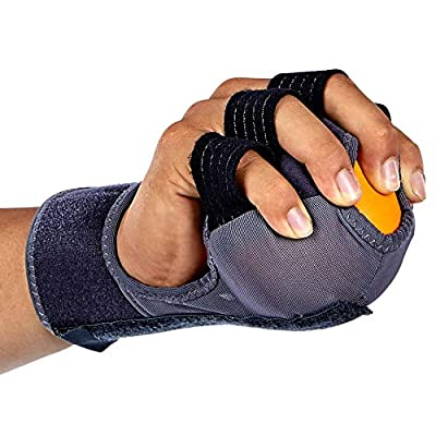 Hand Grip Strength Exerciser Ball - Hands Grips Strengthener - Trainer Squeezer Exercise Balls - - Wrist Excersize Strengther - Forearm Workout Grippers - Exercisers Stretcher Therapy Equipment from SENTEQ