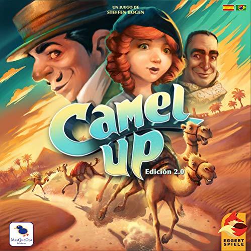 Camel Up 2.0 Español y Portugues MasQueOca Ediciones