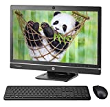 """HP Elite 8300 FHD 24"""" All in One Computer PC, Intel Core i7 3.4GHz Processor, 8GB Ram, 256GB Solid State Drive, Display Port, DVD Drive, Wi-Fi, Wireless Keyboard & Mouse, Windows 10 Pro (Renewed)"""
