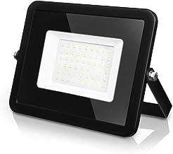 LVWIT Foco Proyector LED - 50W equivalente a 150W, 4000 lúmenes, Foco Reflector color blanco frío 6500K. Impermeable IP65.
