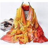 Bufandas suaves para mujeres de peso ligero chal de verano para playa, mantén el calor (color : Cd3, tamaño: 200 x 140 cm)