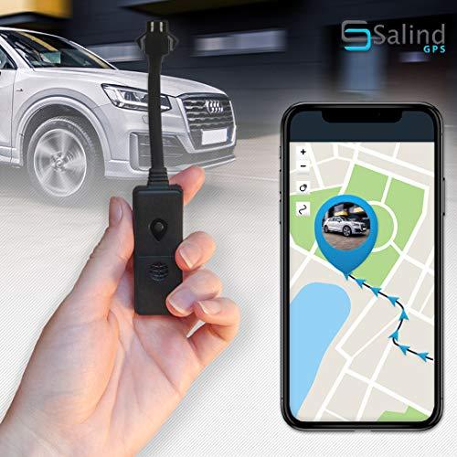 Salind 01- Mini GPS Tracker, Anti Verloren GPS Ortungsgerät für Autos, Motorräder, Motorroller oder Fahrräder