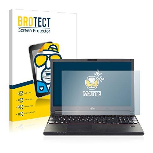 BROTECT Entspiegelungs-Schutzfolie kompatibel mit Fujitsu Lifebook E556 Bildschirmschutz-Folie Matt, Anti-Reflex, Anti-Fingerprint