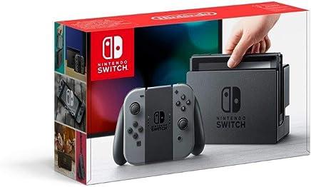 Console Nintendo Switch avec paire de Joy-Con - gris