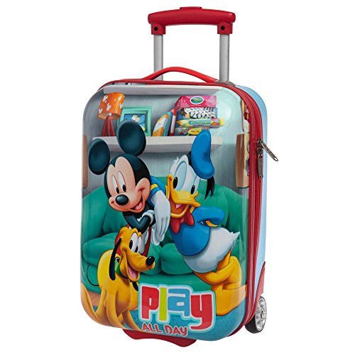 Disney Mickey Play Bagage Cabine, 55 cm, 36.29 L, Rouge