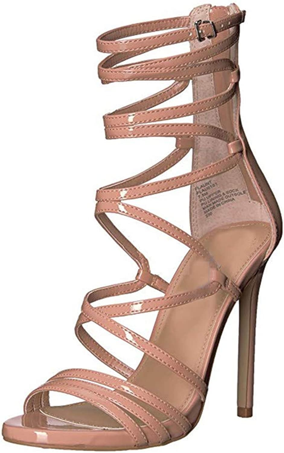 Party Women's Gladiator shoes Woman Sexy Thin High Heels Summer Date Prom shoes Sandals