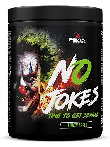 Peak International No Jokes Pre Workout Booster, 600 g Dose (Crazy Apple)