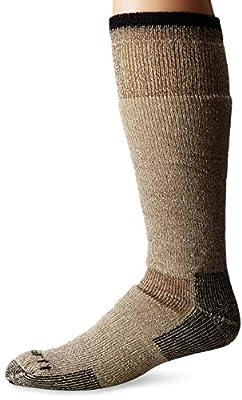 Carhartt Men's Arctic Wool Heavy Boot Socks, Brown, Shoe Size: 6-12