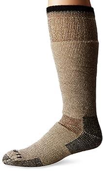 Carhartt Men s Arctic Wool Heavy Boot Socks Brown Shoe Size  6-12