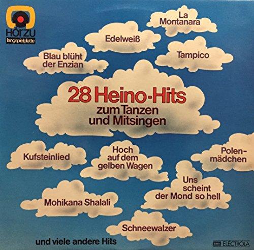 Der Botho Lucas-Chor, Orchester Erich Becht: 28 Heino-Hits Zum Tanzen Und Mitsingen LP