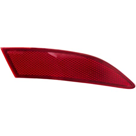 Passenger Fanlide Rear Right Bumper Reflector fit for 2013 2014 2015 2016 2017 Ford Fusion DS7Z-13A565-J DS7Z-13A565-A FO1185103