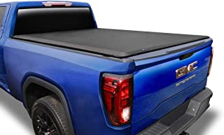 Tyger Auto T1 Soft Roll Up Truck Bed Tonneau Cover Compatible with 2019-2021 Chevy Silverado/GMC Sierra 1500 New Body Styl...