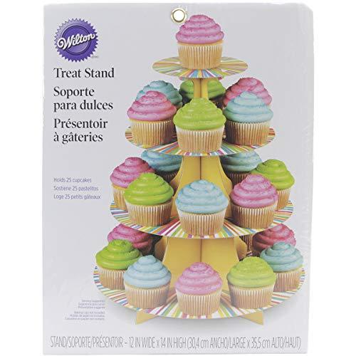 Wilton Cupcake-Ständer mit 4 Etagen–Mehrfarbig