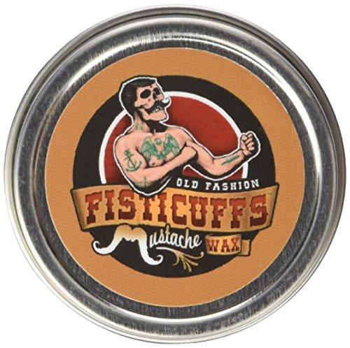 Fisticuffs Strong Hold Mustache Wax 1 OZ. Tin