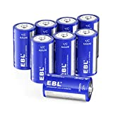 Best C Batteries - EBL C Batteries Alkaline C Batteries - Durable Review