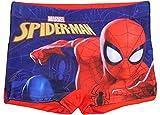 Marvel Spiderman Garçons Short de Bain (4/5 Ans, Rouge Neuf)