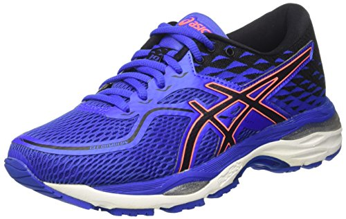 Asics T7B8N4890, Zapatillas de Running Mujer, Morado (Blue Purple/Black/Flash Coral), 38 EU