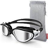 Swimming Goggles, ZIONOR G1 Polarized Swim Goggles UV Protection Watertight Anti-Fog Adjustable Strap