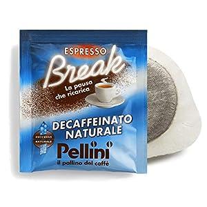 Pellini Caffè Espresso Break Cremoso Decaffeinato, Cialde Compatibili E.S.E., 150 Capsule