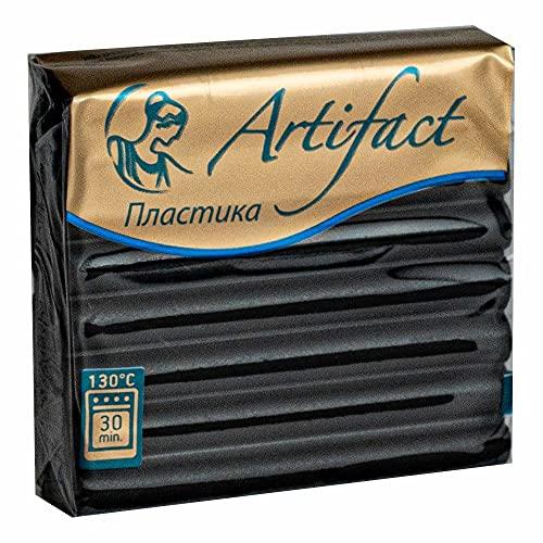 56g Negro Clásico 191 Polímero Arcilla Artefacto, Horno Al Horno Escultura Modelado Arcilla, Miniaturas de Bricolaje, Fabricación de Joyas, Artesanía Decoración, Arte
