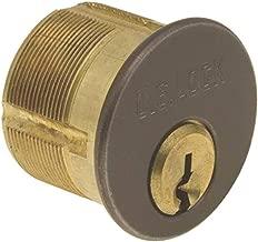 US Lock 7185YA1-46-KA2 Mortise Cylinder 1-1/8 in. Yale Cam Y1 Keyway Duronotic Ka2 Brown
