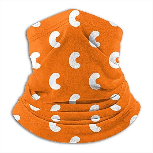 GWrix Cashew Patroon Nekwarmer, bivakmuts, skimasker, koud weer, gezichtsmasker, winter hoed, hoofddeksel, voor mannen en vrouwen, zwart