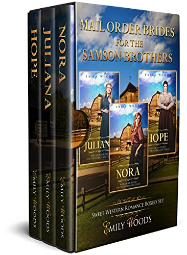 Mail Order Brides for the Samson Brothers: Sweet Western Romance Boxed Set (English Edition)