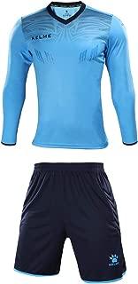 KELME Men's Goalkeeper Long Sleeves Jersey & Shorts Youth Suit