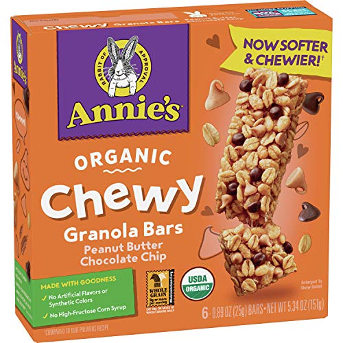 Annie's Organic Chewy Peanut Butter…