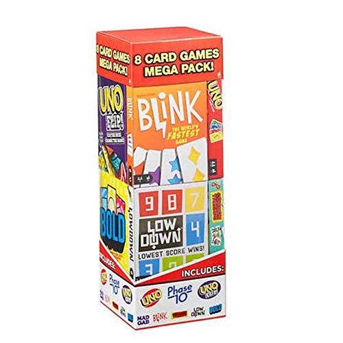 Mattel Games 8 Card Games Mega Pack New Version