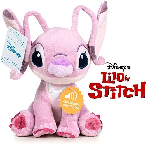 playbyplay Peluche Soft Angel con Sound 20cm Friend of Stitch Disney Lilo & Stitch - (760018231)