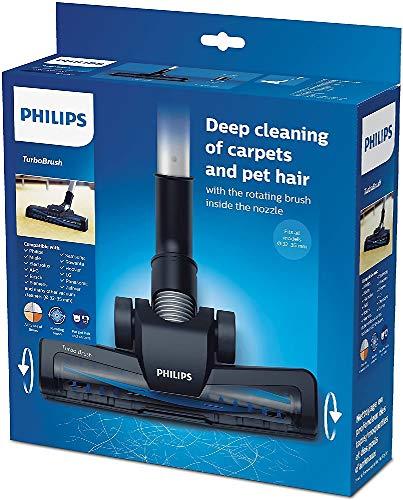Philips FC8005/01 Universalbodendüse zur Teppich-, Polster- und Tierhaarreinigung, schwarz