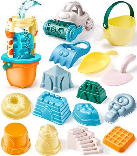 Geyiie Kids Sand Toys Set