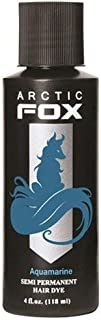 Arctic Fox, 100% mezcla vegana de cabello permanente de colorear (4oz, AQUAMARINE)