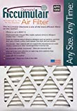 Accumulair Diamond 14x20x1 (13.5x19.5) MERV 13 Air Filter/Furnace Filters (Pack of 2)