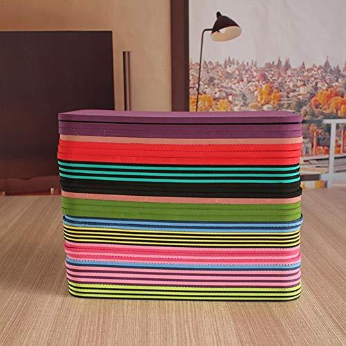 NOBRAND Yoga Knie Pad Anti-slip Vochtbestendig Yoga Mat voor Plank Pilates Oefening (Random Color) Afmetingen: ongeveer 39cm*21cm/15.35 * 8.27inch