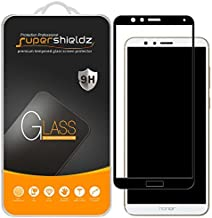 Supershieldz (2 Pack) for Huawei Honor 7X Tempered Glass Screen Protector, (Full Screen Coverage) 0.33mm, Anti Scratch, Bubble Free (Black)