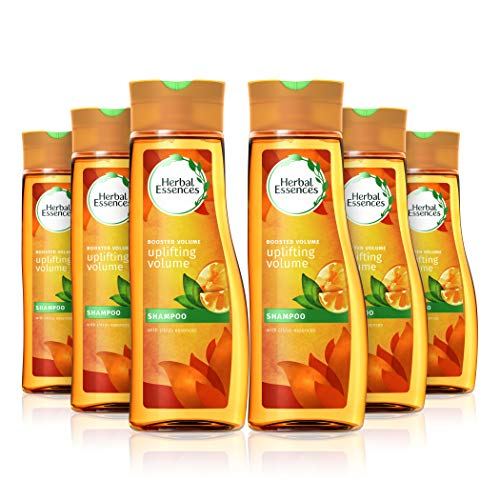 Herbal Essences Uplifting Volume Shampoo for Fine and Normal Hair, 400 ml - Pack of 6