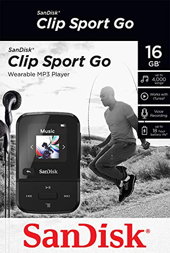 SanDisk Clip Sport Go, LED Screen and FM Radio 6