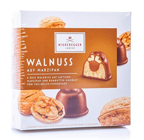 Niederegger Marzipan Pralinés 'Walnuss', 1er Pack (1 x 102 g)