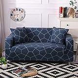 Fundas de sofá con Estampado de Flores para Sala de Estar Funda elástica elástica Fundas de sofá de Esquina seccionales A23 4 plazas