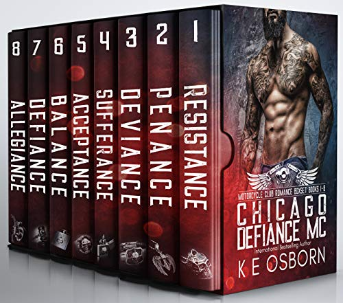 The Chicago Defiance MC Boxset Books 1-8 The Complete Series